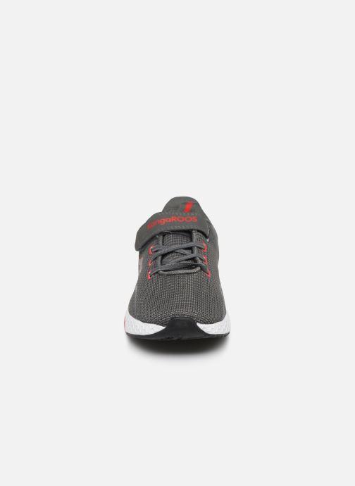 Baskets Kangaroos Kadee Lite EV Gris vue portées chaussures