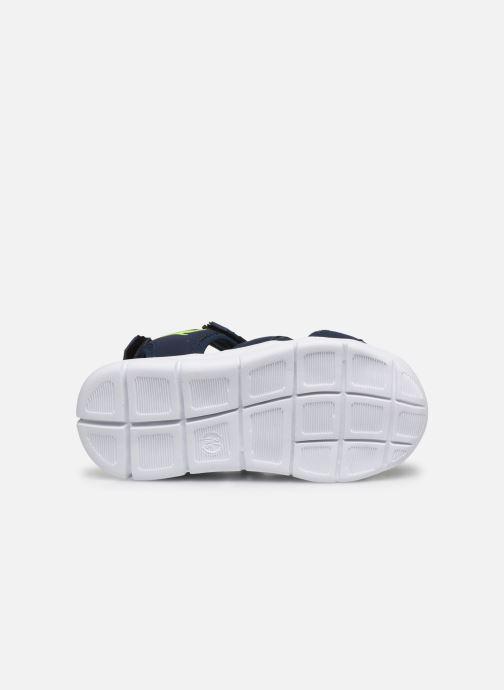 Sandales et nu-pieds Kangaroos K-Mini Bleu vue haut