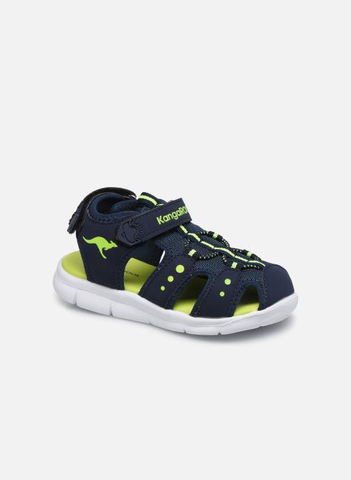Sandales et nu-pieds Kangaroos K-Mini Bleu vue détail/paire