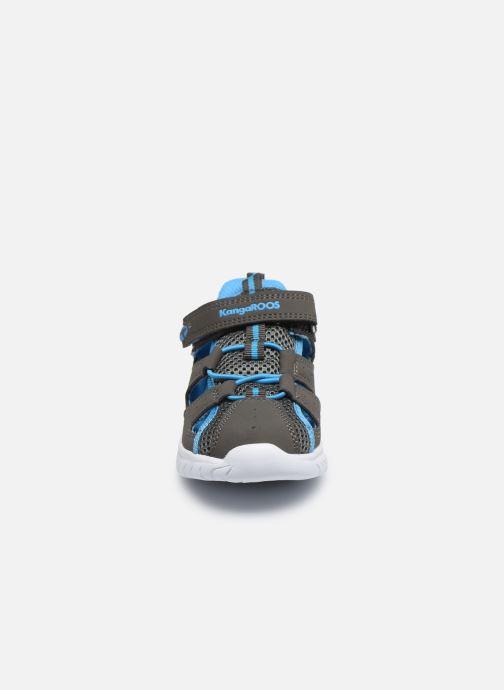 Sandales et nu-pieds Kangaroos KI-Rock Lite EV Gris vue portées chaussures
