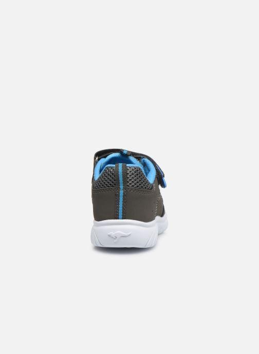 Sandales et nu-pieds Kangaroos KI-Rock Lite EV Gris vue droite