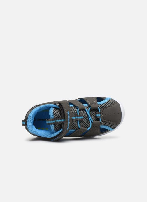 Sandales et nu-pieds Kangaroos KI-Rock Lite EV Gris vue gauche