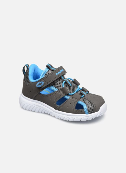Sandales et nu-pieds Kangaroos KI-Rock Lite EV Gris vue détail/paire