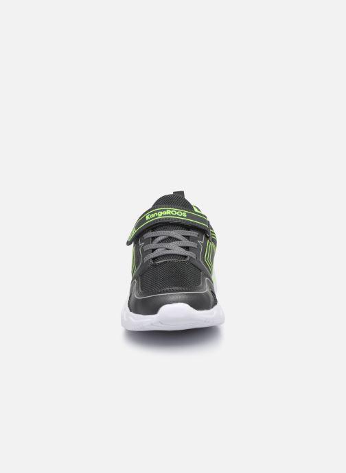 Baskets Kangaroos KK-Hero EV Gris vue portées chaussures