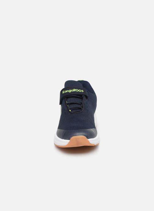Baskets Kangaroos KB-Hook EV Bleu vue portées chaussures