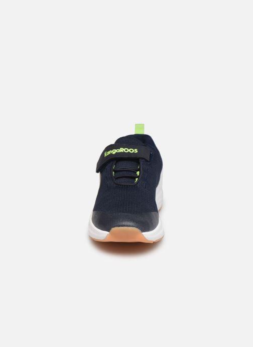 Sneaker Kangaroos KB-Hook EV blau schuhe getragen