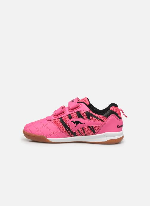 Trainers Kangaroos Court Comb V Pink front view