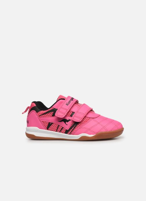 Trainers Kangaroos Court Comb V Pink back view