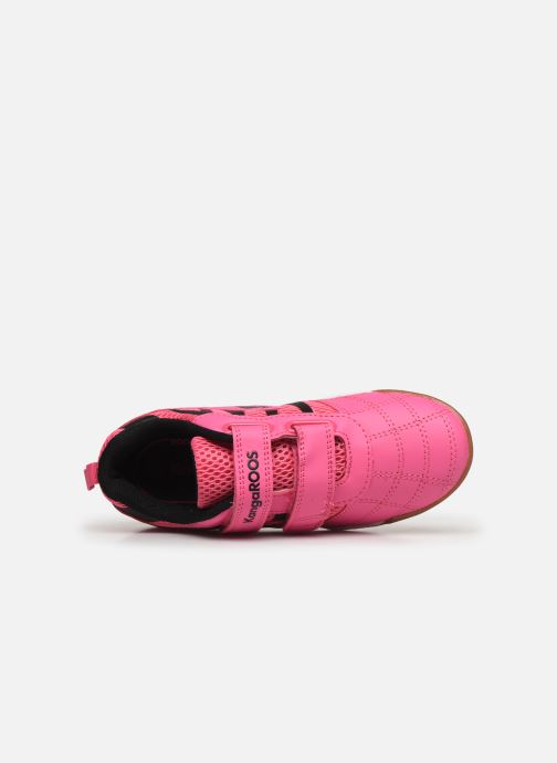Trainers Kangaroos Court Comb V Pink view from the left