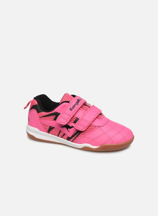 Trainers Kangaroos Court Comb V Pink detailed view/ Pair view