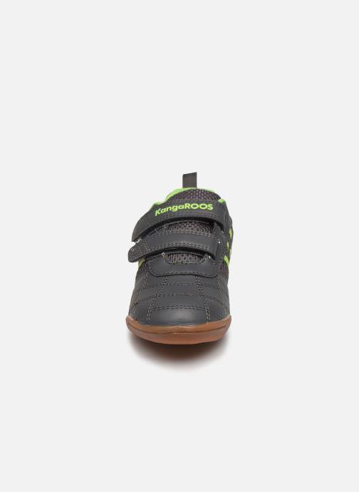 Baskets Kangaroos Court Comb V Gris vue portées chaussures