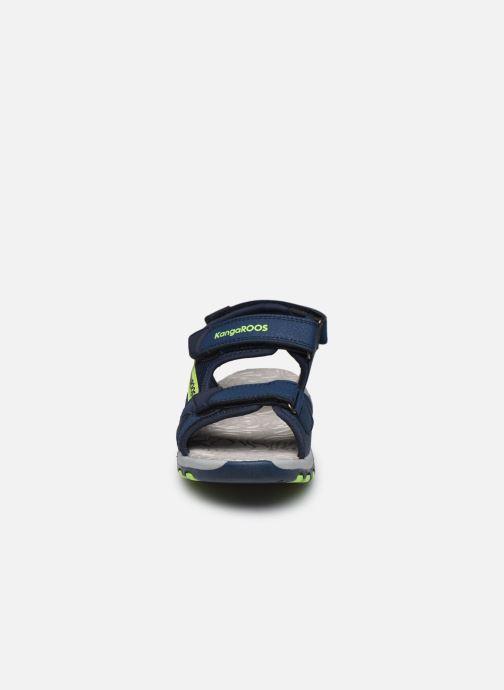 Sandales et nu-pieds Kangaroos K-Celtic Bleu vue portées chaussures