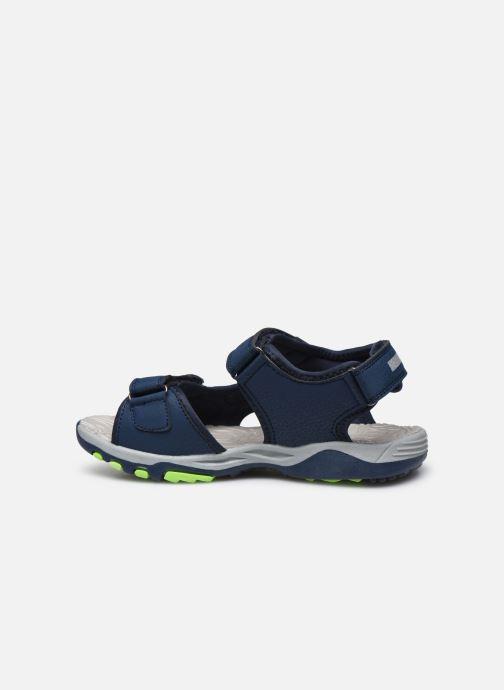 Sandales et nu-pieds Kangaroos K-Celtic Bleu vue face