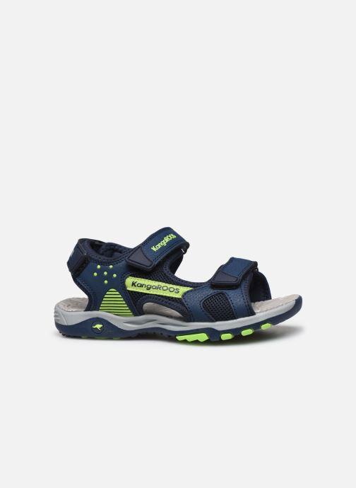 Sandales et nu-pieds Kangaroos K-Celtic Bleu vue derrière