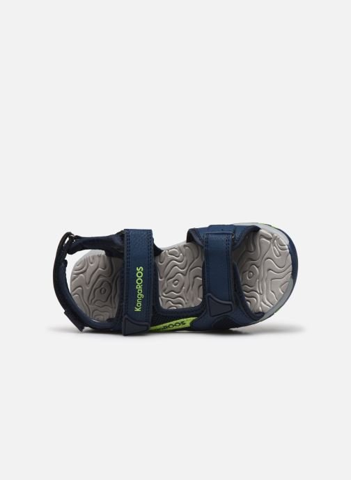 Sandales et nu-pieds Kangaroos K-Celtic Bleu vue gauche