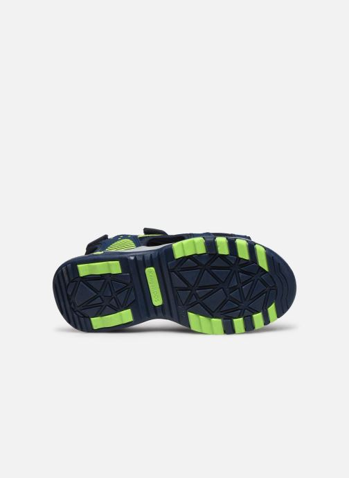 Sandales et nu-pieds Kangaroos K-Celtic Bleu vue haut