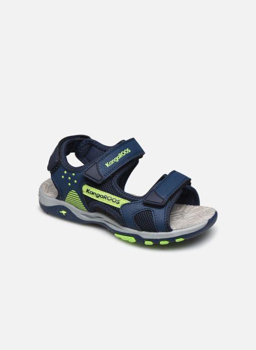 Sandales et nu-pieds Kangaroos K-Celtic Bleu vue détail/paire