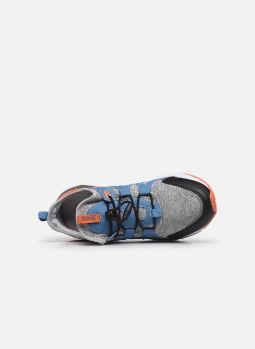 Baskets Kangaroos Ross Kickx - Rooki SL Bleu vue gauche
