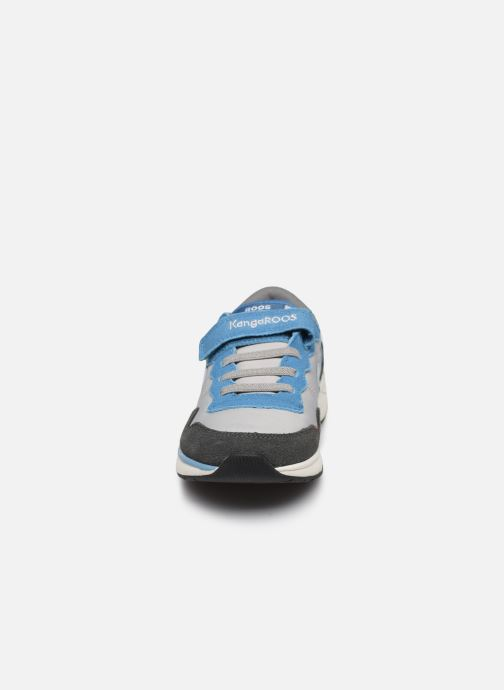 Baskets Kangaroos Ross Kickx - Invader Gris vue portées chaussures