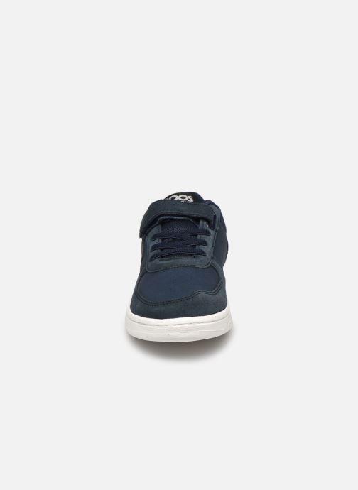 Sneakers Kangaroos Roos Kickx - Easy Azzurro modello indossato