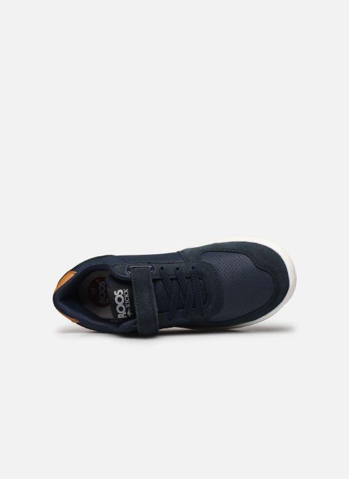 Sneakers Kangaroos Roos Kickx - Easy Azzurro immagine sinistra