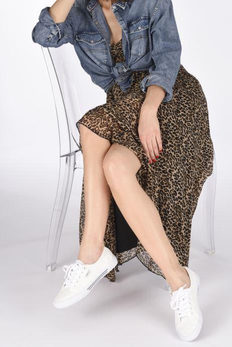 Baskets Pepe jeans Aberlady Angy-20 Blanc vue bas / vue portée sac