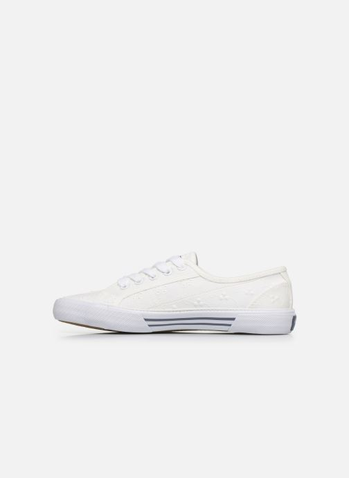 Baskets Pepe jeans Aberlady Angy-20 Blanc vue droite