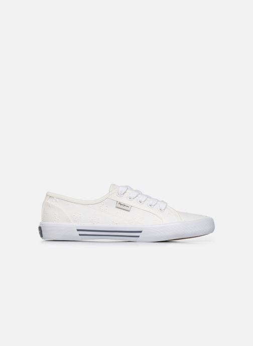 Baskets Pepe jeans Aberlady Angy-20 Blanc vue gauche