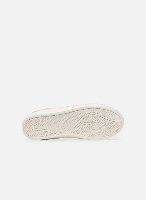Baskets Pepe jeans Kioto One Blanc vue haut