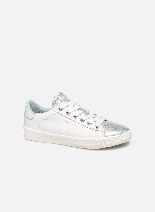 Baskets Pepe jeans Kioto One Blanc vue détail/paire