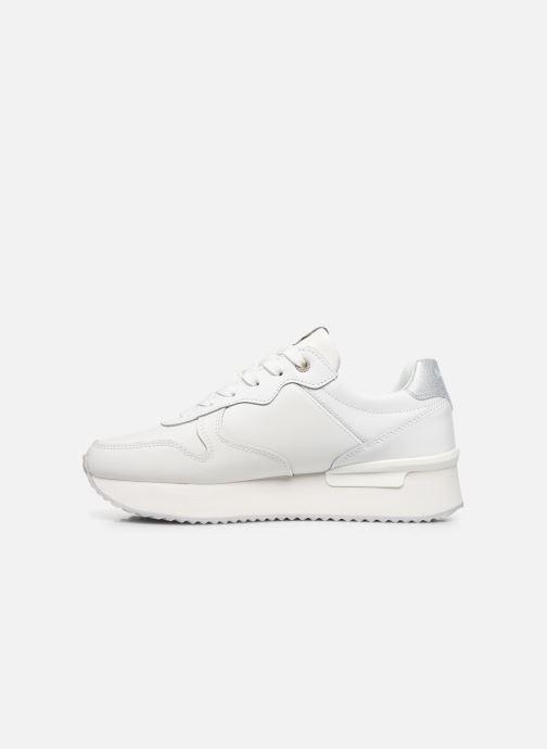 Baskets Pepe jeans Rusper Premium Blanc vue face