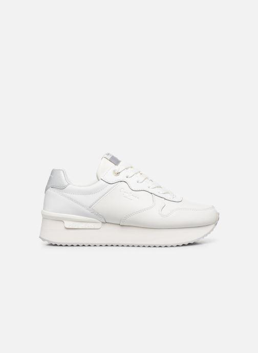 Baskets Pepe jeans Rusper Premium Blanc vue derrière