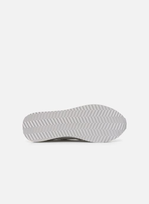 Baskets Pepe jeans Rusper Premium Blanc vue haut