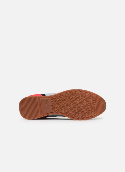 Baskets Pepe jeans Cross 4 Basic Bleu vue haut