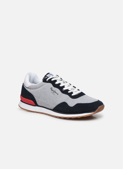 Baskets Pepe jeans Cross 4 Basic Bleu vue détail/paire