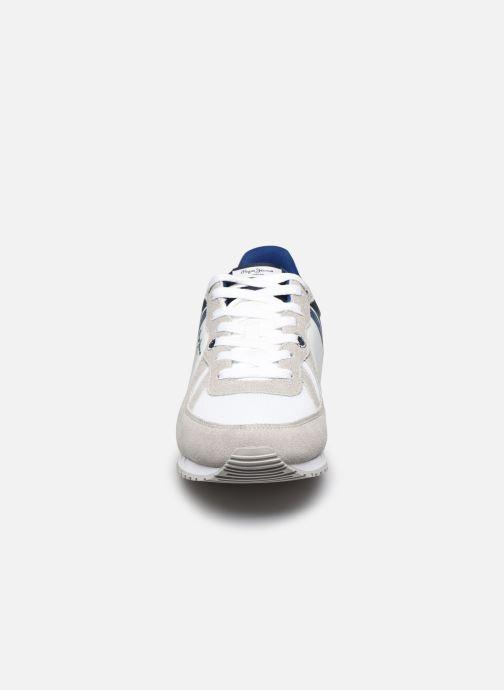 Baskets Pepe jeans Tinker Zero Ath Blanc vue portées chaussures