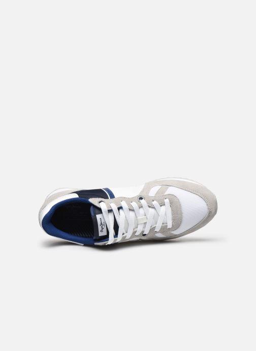 Baskets Pepe jeans Tinker Zero Ath Blanc vue gauche