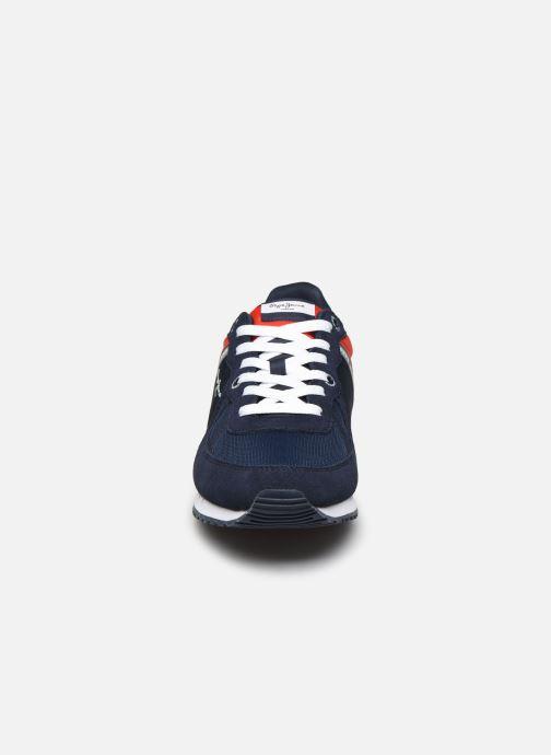 Baskets Pepe jeans Tinker Zero Ath Bleu vue portées chaussures
