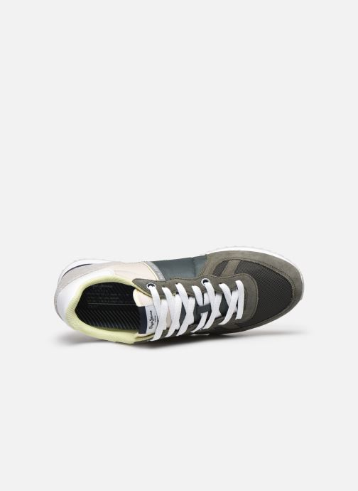 Sneakers Pepe jeans Tinker Zero Ath Verde immagine sinistra