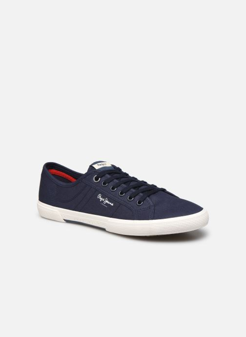 Baskets Pepe jeans Aberman Smart Bleu vue détail/paire