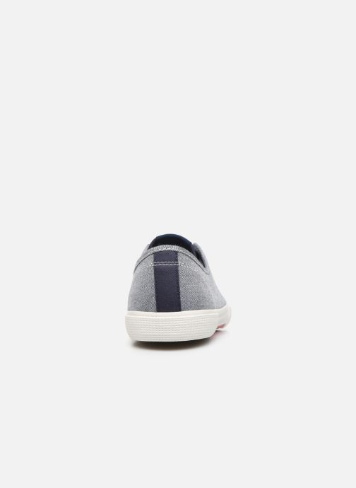 Baskets Pepe jeans Aberman Smart Bleu vue droite