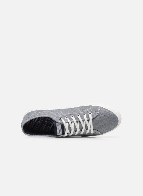 Baskets Pepe jeans Aberman Smart Bleu vue gauche