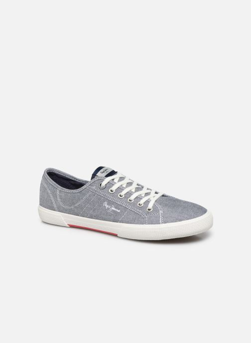 Baskets Pepe jeans Aberman Smart Bleu vue détail/paire