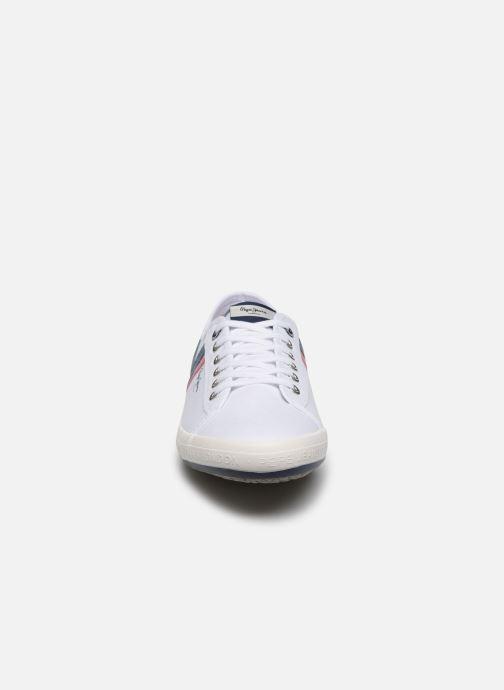 Baskets Pepe jeans Aberman Half Blanc vue portées chaussures