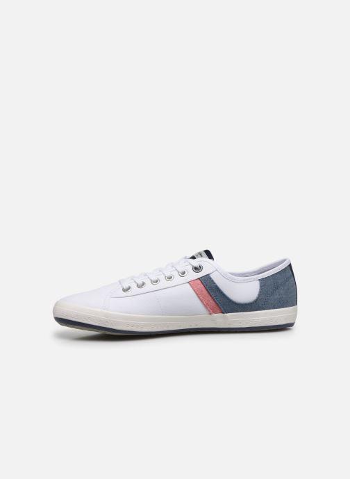 Sneaker Pepe jeans Aberman Half weiß ansicht von vorne