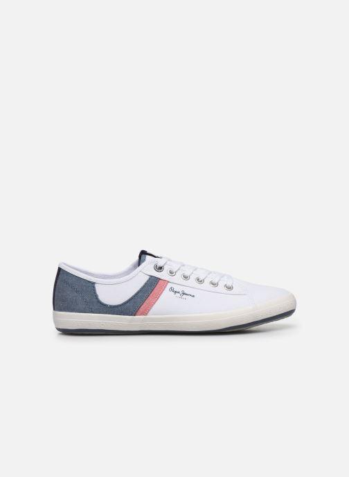 Sneaker Pepe jeans Aberman Half weiß ansicht von hinten