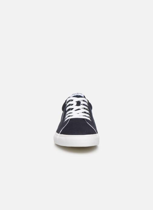 Baskets Pepe jeans Kenton Basic Man Chambray Bleu vue portées chaussures