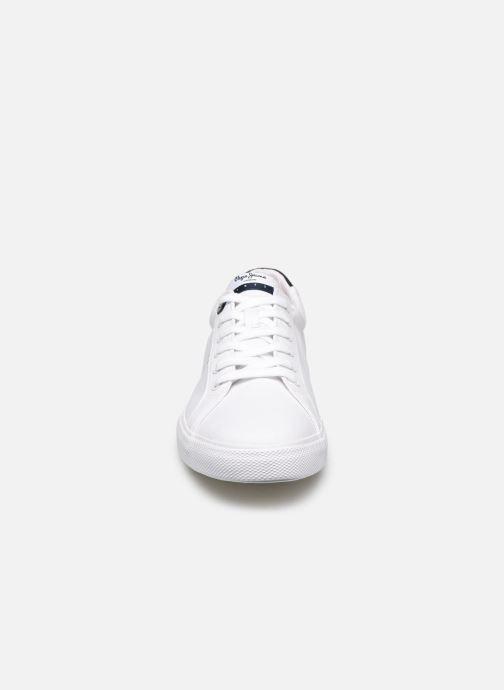 Baskets Pepe jeans Kenton Basic Man Blanc vue portées chaussures