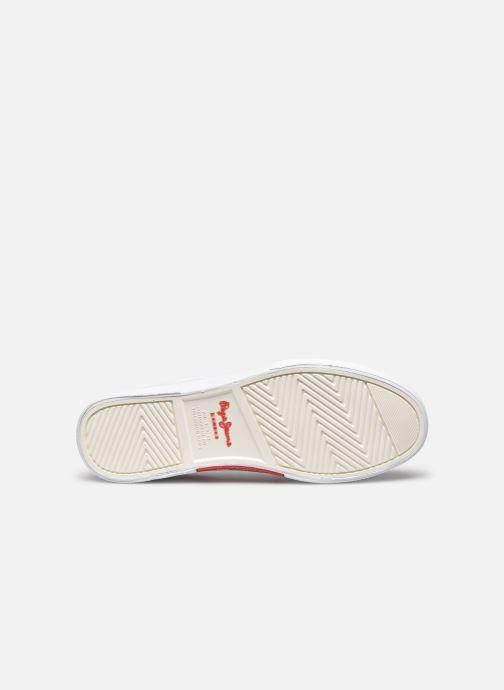 Baskets Pepe jeans Kenton Basic Man Blanc vue haut