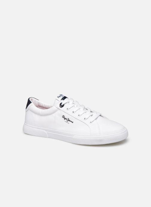 Baskets Pepe jeans Kenton Basic Man Blanc vue détail/paire